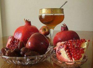 Гранат и мед