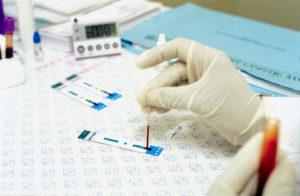 Анализ крови чтобы узнать о беременности