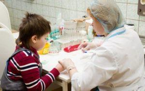 Показание общего анализа крови детей